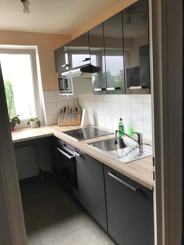 IKEA FAKTUM Küche Hochglanz Anthrazit in Nürnberg - Küchenmöbel ...   {Ikea küchen faktum grau 56}