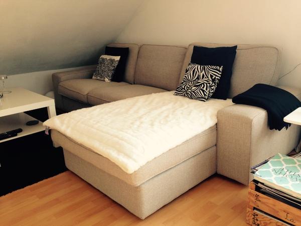 ikea sofa mit r camiere kivik ten hellgrau in stuttgart. Black Bedroom Furniture Sets. Home Design Ideas