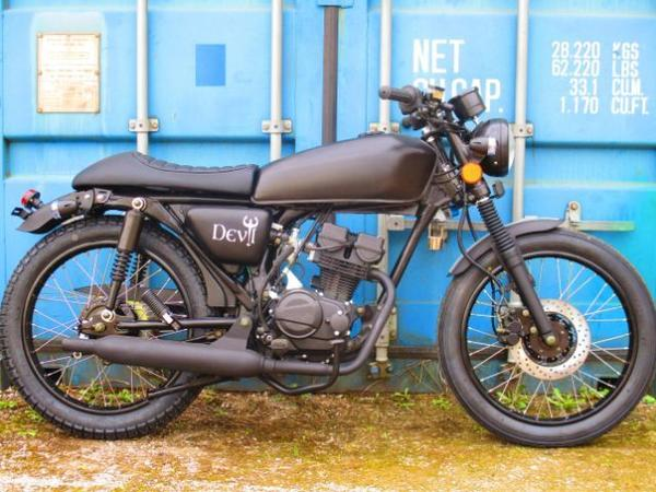 iron horse black devil 50ccm moped in hinterwiestal. Black Bedroom Furniture Sets. Home Design Ideas