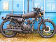 IRON-HORSE Black-Devil 50ccm Moped