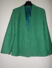 Jacket 38 40 blaugrün leichte