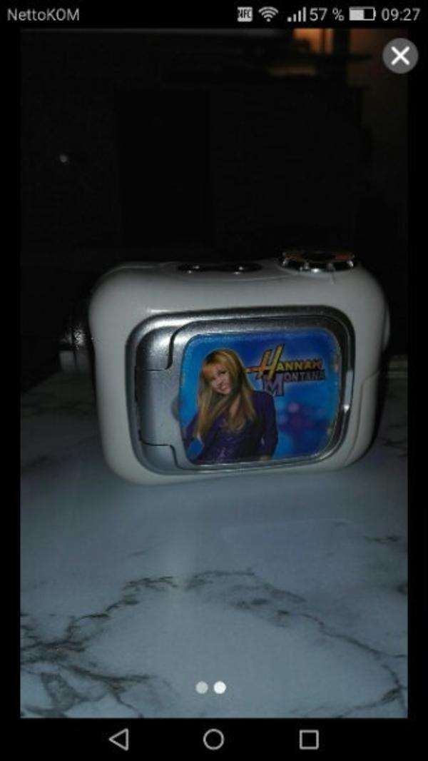 Kamera Hannah Montana - Wiesbaden Biebrich - Kamera Hannah Montana sehr gut erhalten - Wiesbaden Biebrich