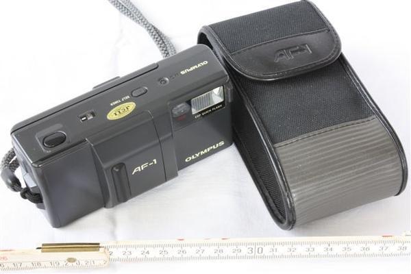 Kamera Olympus AF-1 - Vogtareuth Reipersberg - Kamera Olympus AF-1 mit Originaltasche und Bedienungsanleitung. Keine Gewährleistung. Bitte machen Sie mir ein Angebot. - Vogtareuth Reipersberg