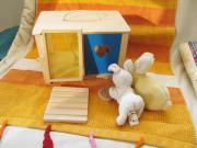 Kaninchenstall zum spielen