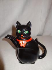 Katzenkaffekanne