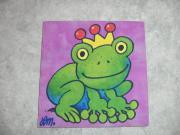 Keilrahmenbild Froschkönig Lutz