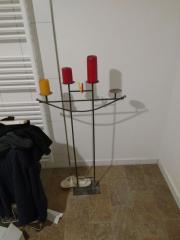 Kerzenständer, Metall, 4-