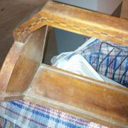 Kerzenstander Fressen Holzstand Photoapparat ofenblech