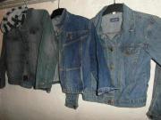 Kinder Jeansjacken blau Gr 140