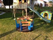 Kinderkarussell Für Den Garten Zuhause Image Idee