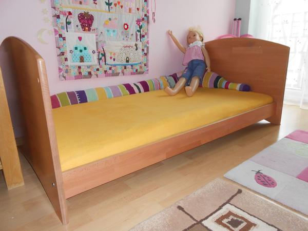 Kinderbett umbaubar neu und gebraucht kaufen bei - Kinderbett welle ...