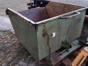 Kippmulde Staplerkippcontainer Gabeln