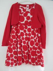 Kleid Bolero Jacke Gr 140