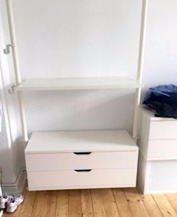 kleiderschrank regal schrank ikea stolmen system in hannover ikea m bel kaufen und verkaufen. Black Bedroom Furniture Sets. Home Design Ideas