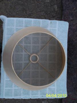 Lampen - Kleiner Lampenschirm Material Kunststoff hell
