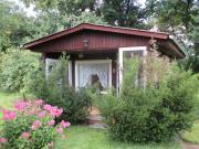 Kleingarten mit Hütte