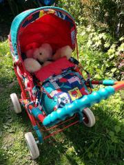 Kombi-Puppenwagen von