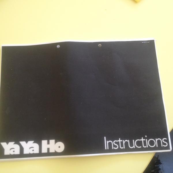 Komplette YaYaHo Anleitung von 1985