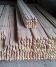 Koppelstangen aus Akazienholz,