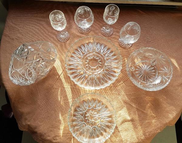 Kristall Geschirr für » Geschirr und Besteck