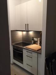 Küche - Schränke + Spüle -