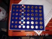 Kursmünzen Satz Spanien 2012