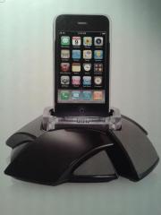 Lade und Abspielstation für iPhone