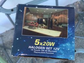 lampe 5x20Watt HALOGEN SET12V neu: Kleinanzeigen aus Zirndorf - Rubrik Lampen