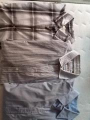 Langarmhemden, lange Hosen
