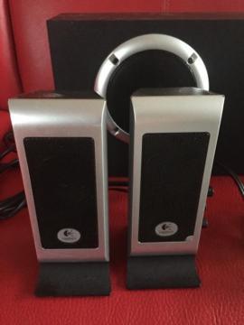 Soundkarten, Lautsprecher - Logitech S200 PC Aktivlautsprecher Topzustand