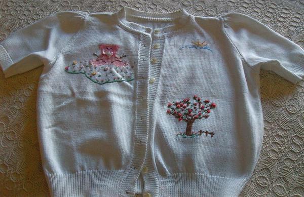 Mädchenbekleidung Pullover Jacke » Handarbeit, Basteln