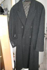 Männer Woll-Mantel *