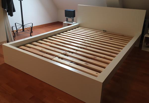 malm bett - 140 x 200 cm - weiß in berlin - betten kaufen und, Hause deko