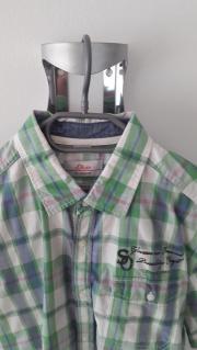 Marken Kurzarm Hemd (