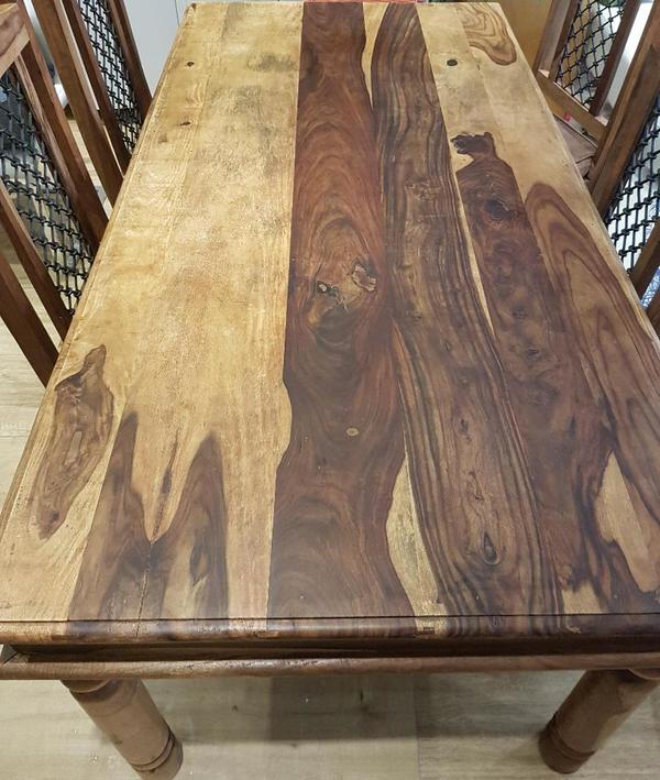 massivholz kolonialstil palisander tisch f r tafel antik beschlag in pei enberg speisezimmer. Black Bedroom Furniture Sets. Home Design Ideas