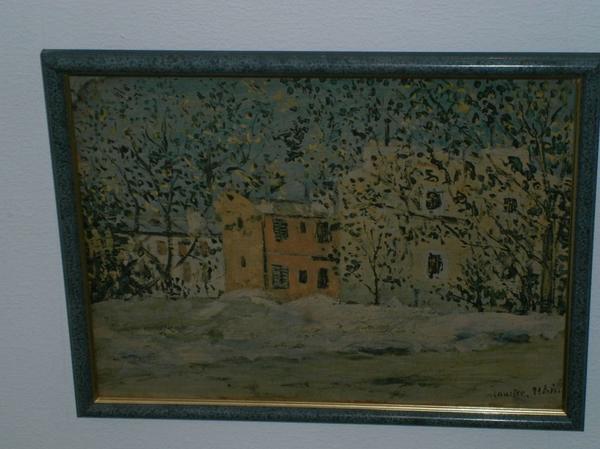 Maurice Utrillo Druck » Kunst, Gemälde, Plastik