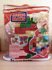 Mega Blocks mit 70 Bausteinen
