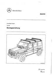 Mercedes Benz Dachgepäckträger -