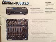 Mischpult Alexis Multimix8
