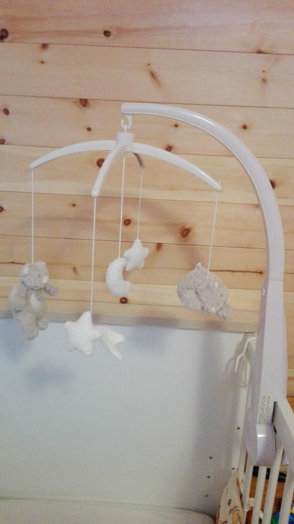 mobile halterung f r mobile f rs gitterbett und laufgitter baby in dornbirn baby und. Black Bedroom Furniture Sets. Home Design Ideas