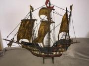 Modellschiff Piraten Schiff Santa-Monika Holz