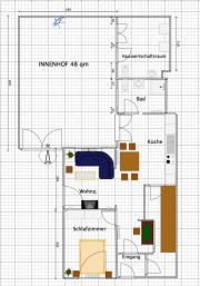 Moderne Erdgeschosswohnung in