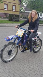 Mofa Rennmaschine Motocross