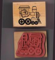 Motiv-Stempel 4 cm Bär auf