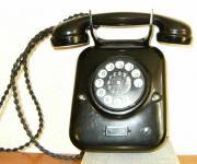 Museales Telefon - Alter Wandfernsprechapparat