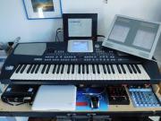 Musikanlage mit Keyboard