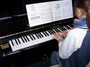 Musikunterricht.