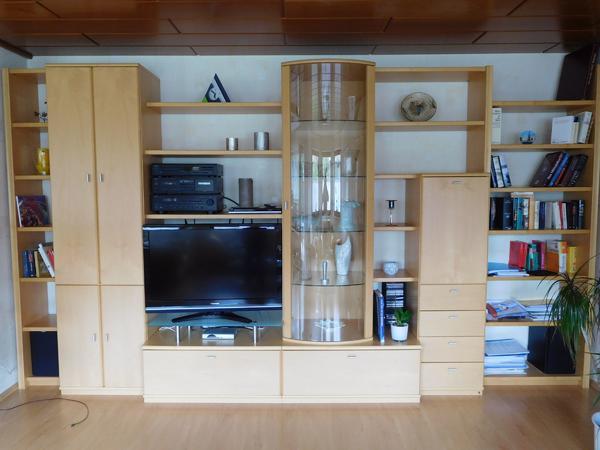Wohnzimmer ahorn gebraucht kaufen nur 2 st bis 60 for Wohnzimmerschrank ahorn