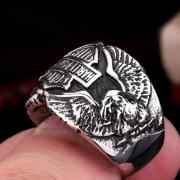 Neu Ring aus Edelstahl US