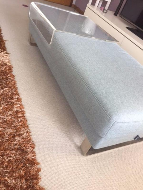 Brühl Polster neu sofa hocker mercury 152x65cm segmüller inkl tischfunktion in